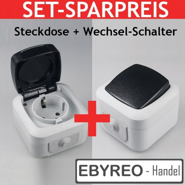 EbyReo Feuchtraum Serie IP 44 - (Spar Pack 1)