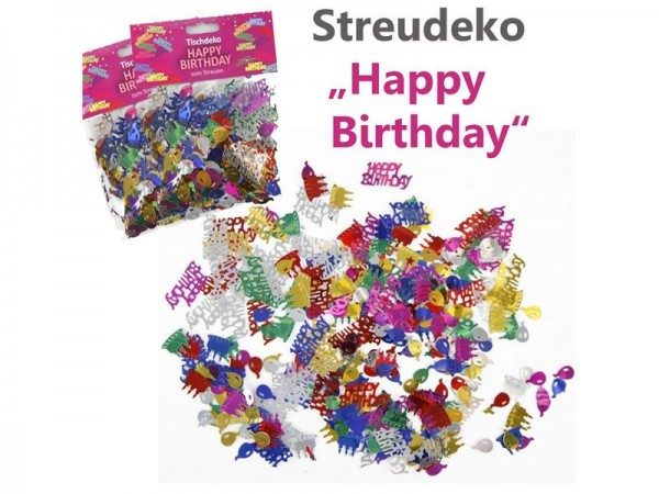 Streudeko Happy Birthday